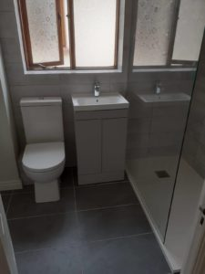 bathroom project
